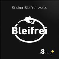 Bleifrei Sticker