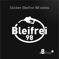 Bleifrei 98 Sticker